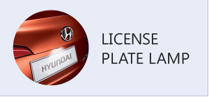 LICENSE PLATE LAMP
