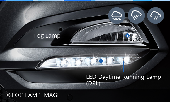 ※ Fog Lamp Image (Fog Lamp,LED Daytime Running Lamp (DRL))
